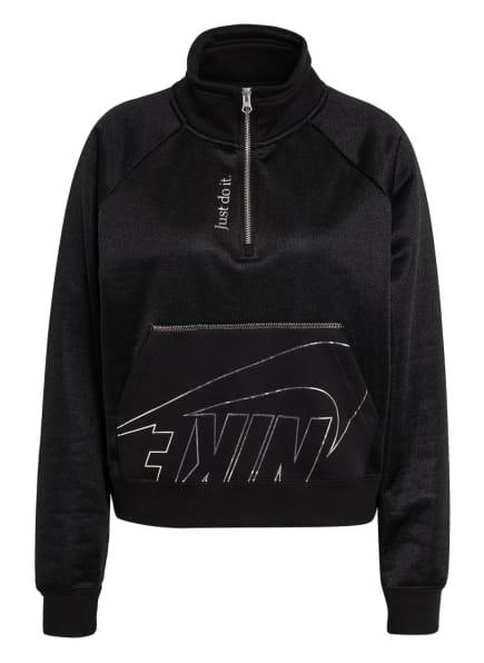 Nike Sweatshirt ICON CLASH FLEECE, Farbe: SCHWARZ/ SILBER (Bild 1)