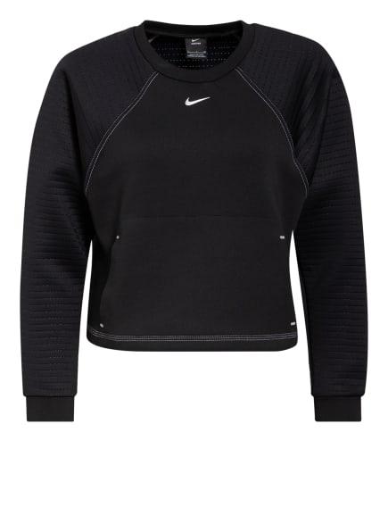 Nike Sweatshirt PRO, Farbe: SCHWARZ/ SILBER (Bild 1)