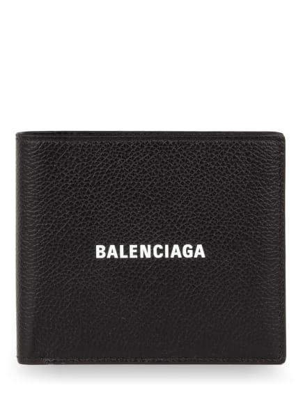BALENCIAGA Geldbörse CASH, Farbe: SCHWARZ/ WEISS (Bild 1)