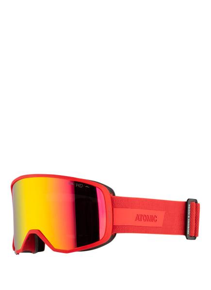 ATOMIC Skibrille REVENT OTG HD, Farbe: ROT/ ORANGE/ GELB (Bild 1)