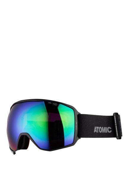 ATOMIC Skibrille COUNT 360 HD, Farbe: SCHWARZ/ LILA/ GRÜN (Bild 1)