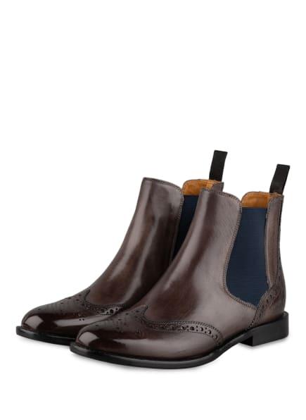 MELVIN & HAMILTON Chelsea-Boots SELINA, Farbe: TAUPE/ DUNKELBLAU (Bild 1)