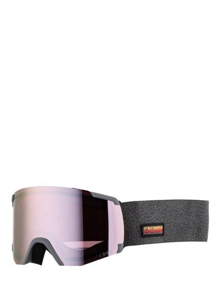 SALOMON Skibrille VIEW SIGMA, Farbe: LILA/ GRAU (Bild 1)