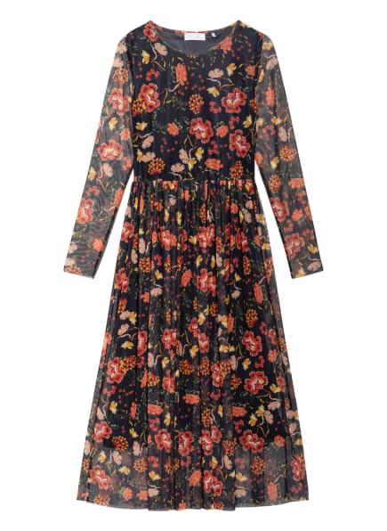 rich&royal Kleid, Farbe: SCHWARZ/ ROT/ ORANGE (Bild 1)