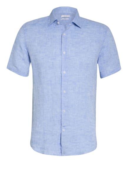 REISS Kurzarm-Hemd HOLIDAY Slim Fit aus Leinen, Farbe: HELLBLAU (Bild 1)