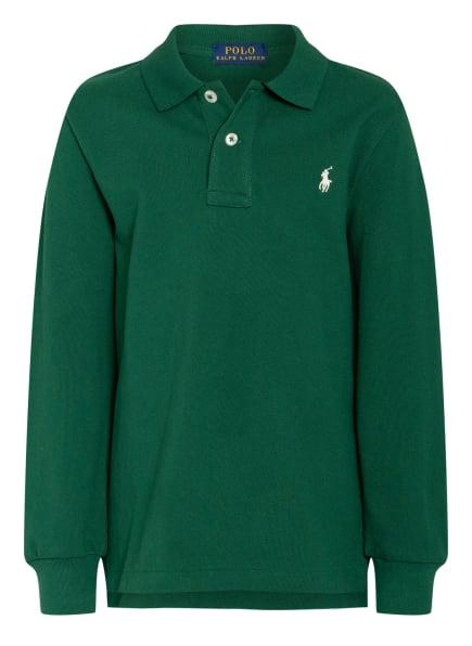 POLO RALPH LAUREN Piqué-Poloshirt, Farbe: GRÜN (Bild 1)