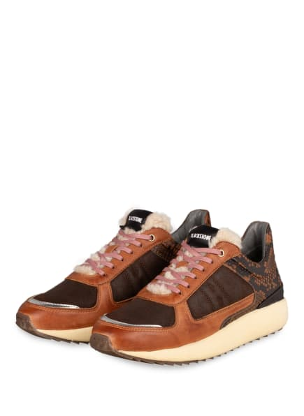 BLACKSTONE Sneaker , Farbe: DUNKELBRAUN/ COGNAC/ SCHWARZ (Bild 1)