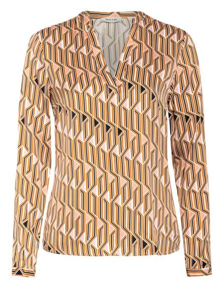 MALVIN Blusenshirt , Farbe: COGNAC/ ROSÉ/ SCHWARZ (Bild 1)