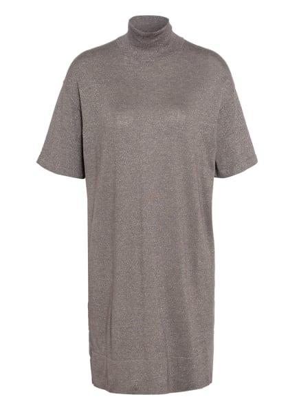BRUNELLO CUCINELLI Kleid mit Cashmere und Glitzergarn, Farbe: C9462 FANGO (Bild 1)