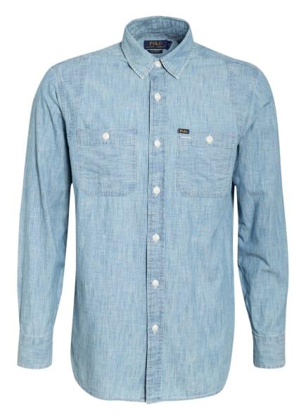POLO RALPH LAUREN Hemd Custom Fit, Farbe: HELLBLAU (Bild 1)
