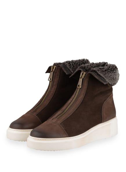 paul green Plateau-Boots, Farbe: BRAUN (Bild 1)