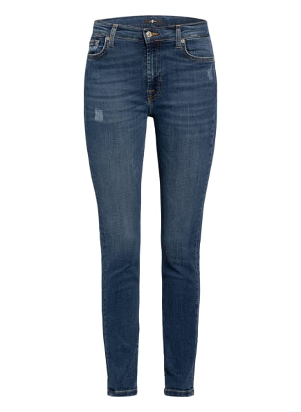 7 for all mankind Skinny Jeans , Farbe: Slim Illusion Persuit MID DARK (Bild 1)