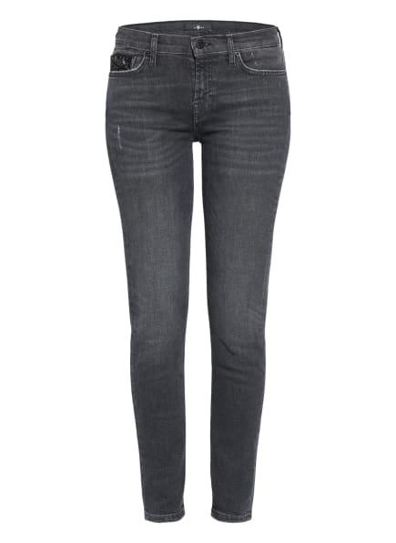 7 for all mankind Jeans THE SKINNY mit Schmucksteinbesatz, Farbe: Slim Illusion Epic WASHED BLACK (Bild 1)