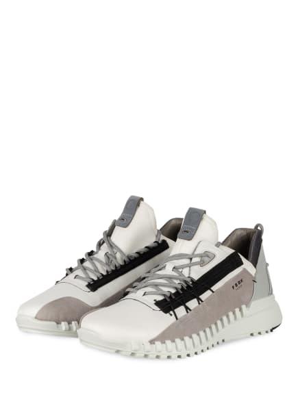 ECCO Sneaker ECCO ZIPFLEX M, Farbe: WEISS/ HELLGRAU (Bild 1)