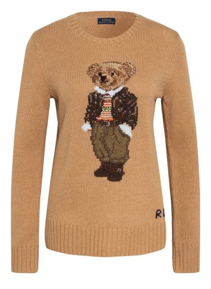 POLO RALPH LAUREN Pullover, Farbe: CAMEL (Bild 1)