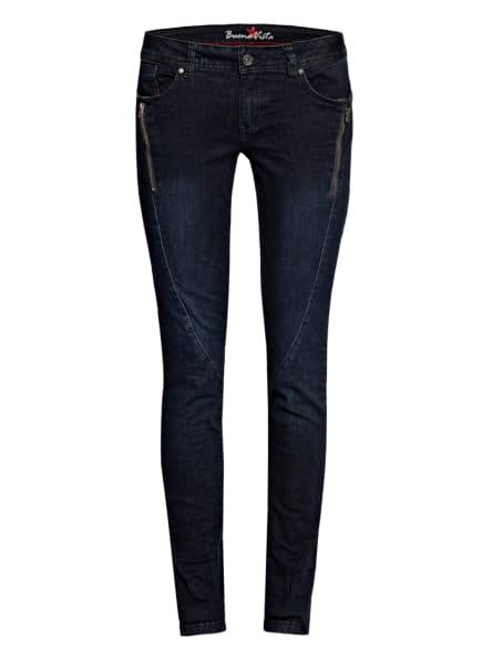 Buena Vista Skinny Jeans MALIBU, Farbe: 4217 midnight blue (Bild 1)