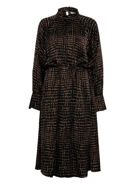 InWear Kleid PAULINE, Farbe: SCHWARZ/ BEIGE/ BRAUN (Bild 1)
