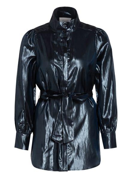 SECOND FEMALE Bluse CILI , Farbe: DUNKELBLAU (Bild 1)
