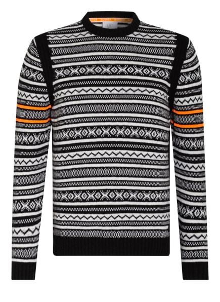 BOGNER Pullover DANTE, Farbe: SCHWARZ/ WEISS (Bild 1)