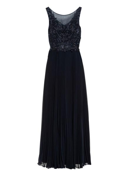 LAONA Abendkleid mit Pailletten- und Schmucksteinbesatz , Farbe: DUNKELBLAU (Bild 1)