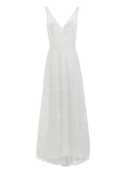 unique Brautkleid mit Paillettenbesatz , Farbe: WEISS (Bild 1)