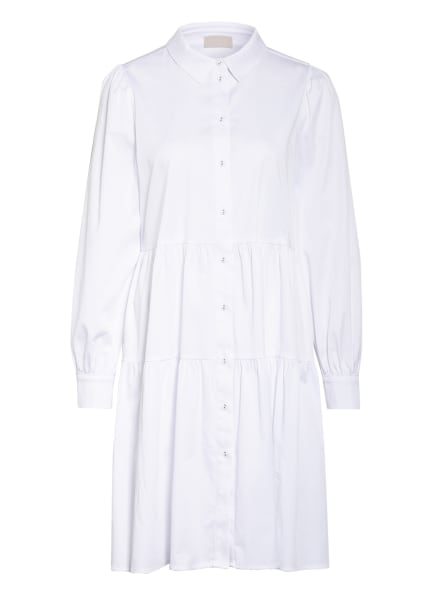 Mrs & HUGS Hemdblusenkleid, Farbe: WEISS (Bild 1)