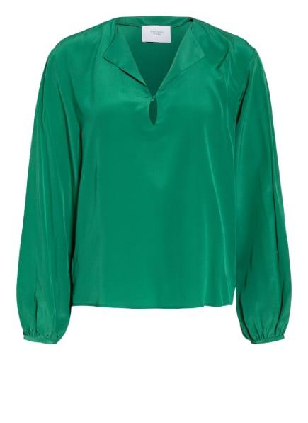 Marc O'Polo Pure Blusenshirt aus Seide , Farbe: GRÜN (Bild 1)