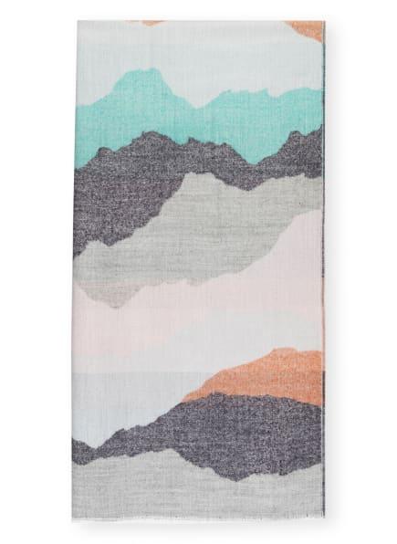 CODELLO Schal, Farbe: GRAU/ MINT/ ROSÉ (Bild 1)