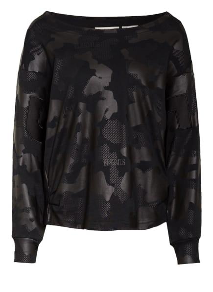 ER ELIAS RUMELIS Sweatshirt ERDARIA, Farbe: SCHWARZ/ DUNKELGRAU (Bild 1)
