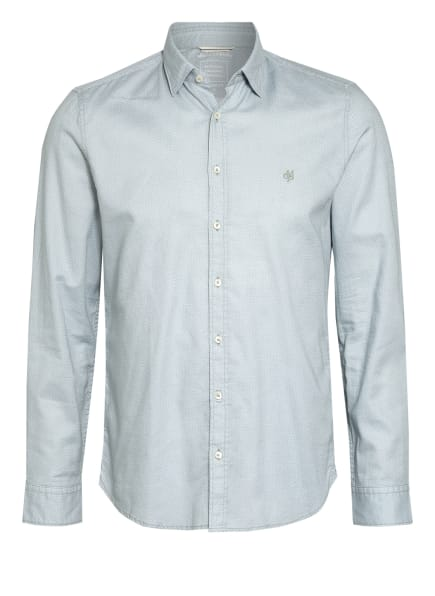 Marc O'Polo Hemd Shaped Fit, Farbe: MINT/ WEISS (Bild 1)