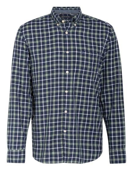 Marc O'Polo Hemd Regular Fit, Farbe: DUNKELBLAU/ GRÜN/ WEISS (Bild 1)