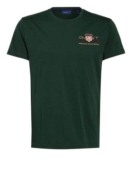 GANT T-Shirt, Farbe: DUNKELGRÜN (Bild 1)