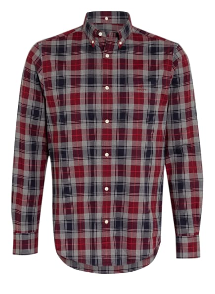 GANT Hemd  Regular Fit, Farbe: ROT/ SCHWARZ/ GRAU (Bild 1)