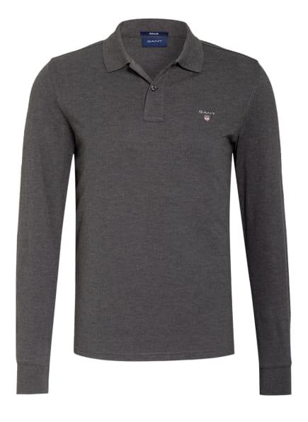 GANT Piqué-Poloshirt Regular Fit , Farbe: GRAU (Bild 1)