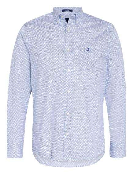 GANT Hemd Regular Fit, Farbe: WEISS/ BLAU/ SCHWARZ (Bild 1)