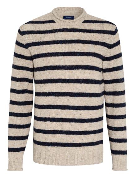 GANT Pullover, Farbe: DUNKELBLAU/ CREME (Bild 1)