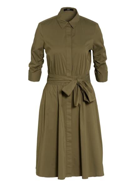 STEFFEN SCHRAUT Hemdblusenkleid, Farbe: OLIV (Bild 1)