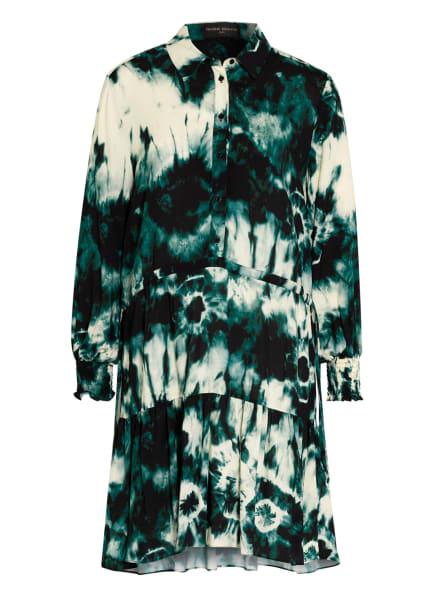 VALÉRIE KHALFON Kleid, Farbe: DUNKELGRÜN/ GRÜN/ ECRU (Bild 1)