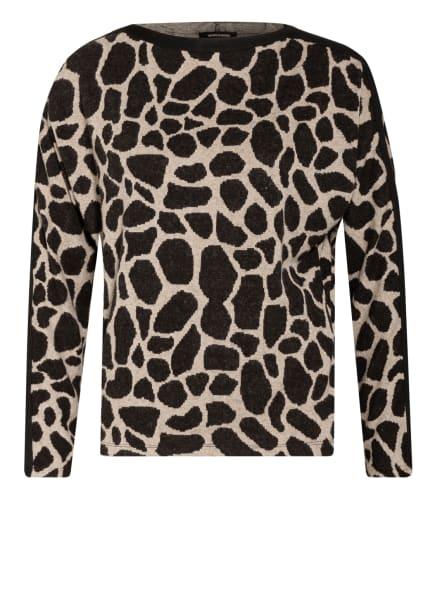MORE & MORE Pullover, Farbe: SCHWARZ/ CREME (Bild 1)