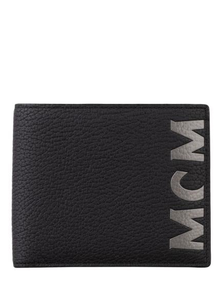 MCM Geldbörse , Farbe: SCHWARZ/ GRAU (Bild 1)