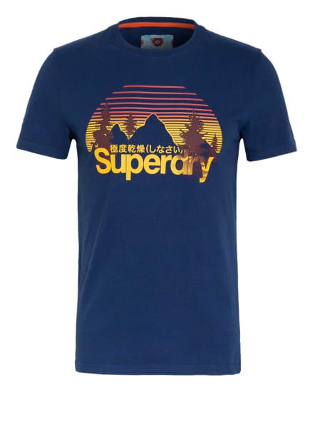 Superdry T-Shirt, Farbe: DUNKELBLAU (Bild 1)