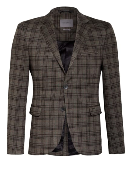 ER ELIAS RUMELIS Kombi-Sakko SCOTT Slim Fit, Farbe: 692 light olive check (Bild 1)