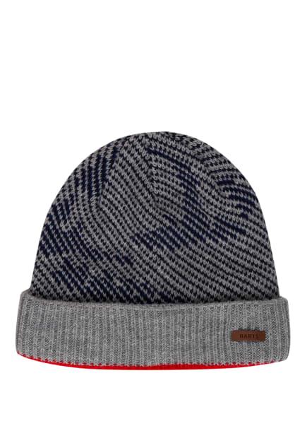 Barts Mütze, Farbe: HELLGRAU/ DUNKELBLAU/ ROT (Bild 1)