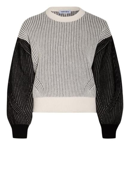 KENZO Pullover, Farbe: ECRU/ GRAU/ SCHWARZ (Bild 1)