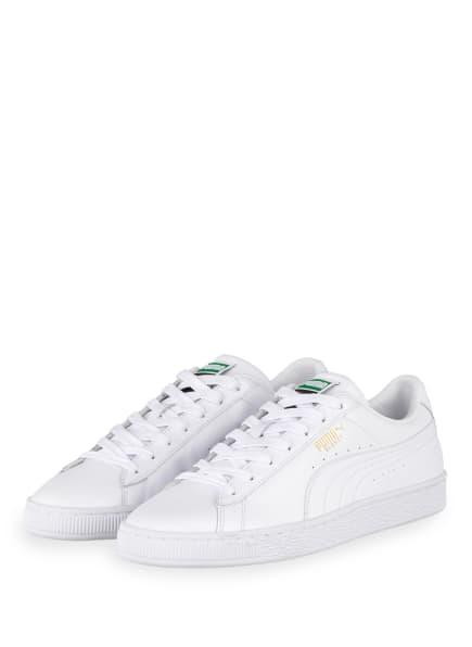 PUMA Sneaker BASKET CLASSIC, Farbe: WEISS (Bild 1)