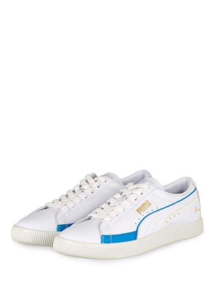 PUMA Sneaker BASKET, Farbe: WEISS/ BLAU (Bild 1)