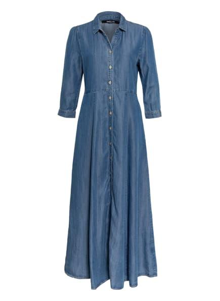 TRUE RELIGION Hemdblusenkleid mit 3/4-Arm, Farbe: BLAU (Bild 1)