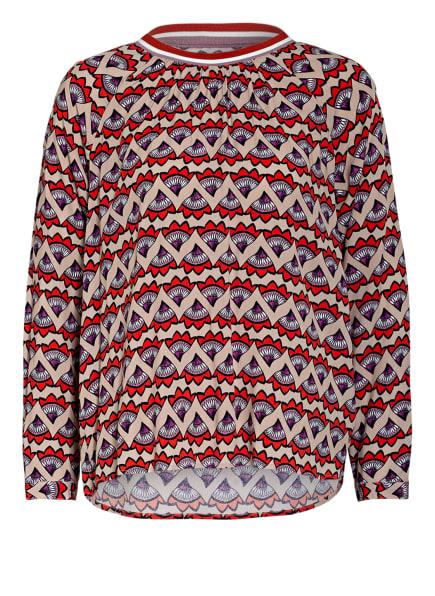 LIEBLINGSSTÜCK Blusenshirt, Farbe: BEIGE/ HELLROT/ SCHWARZ (Bild 1)