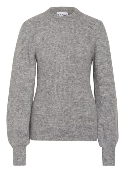 GANNI Pullover, Farbe: HELLGRAU (Bild 1)