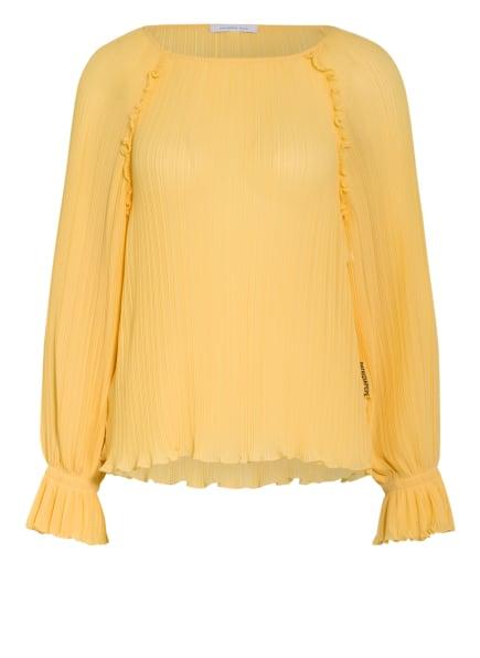 PATRIZIA PEPE Blusenshirt, Farbe: GELB (Bild 1)